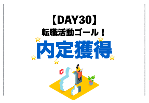 内定キター!!!48歳、初の転職活動で大成功!!|最終結果1勝37敗(DAY30)